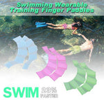 50% OFF A Pair Of Swimming Wearable Training Finger Paddles(Buy 3 Free Shipping)