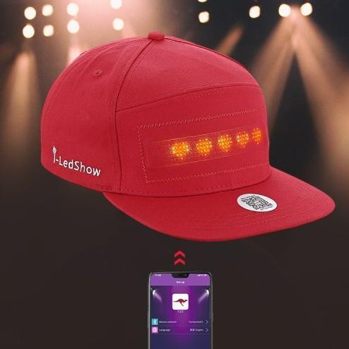 Led Message Hat(Free Shipping)