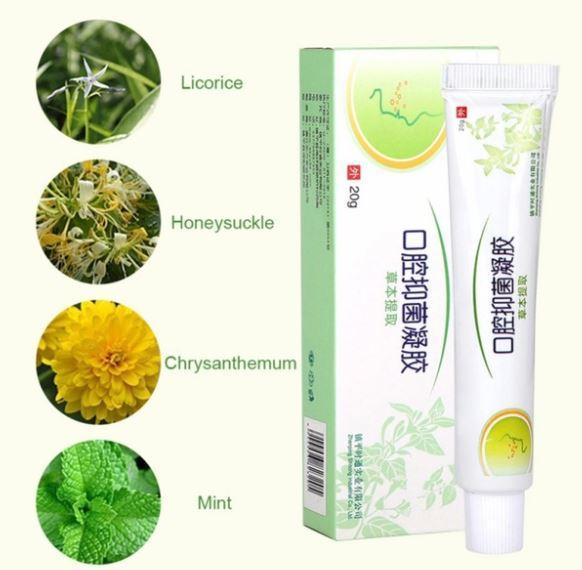 Herbal Oral Antibacterial Gel - 70% OFF