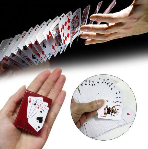 Mini Poker Cards