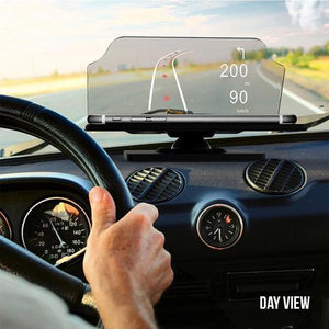 Smartphone Heads Up Navigation Display
