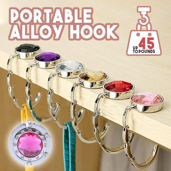 Portable Alloy Hook
