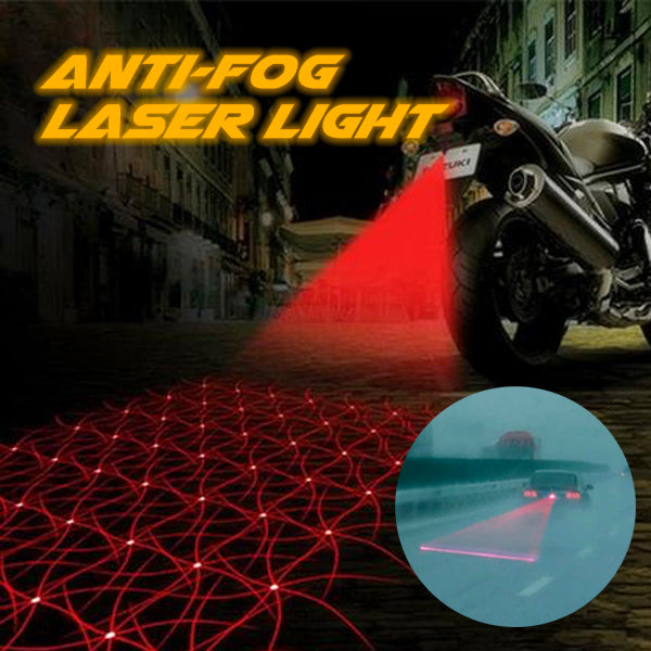 Anti-fog Laser Light