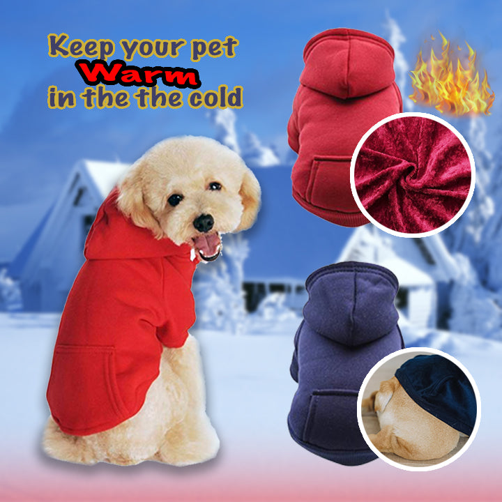 Pet Warm Hoodies
