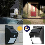SOLAR POWERED & MOTION ACTIVATED LED LIGHT