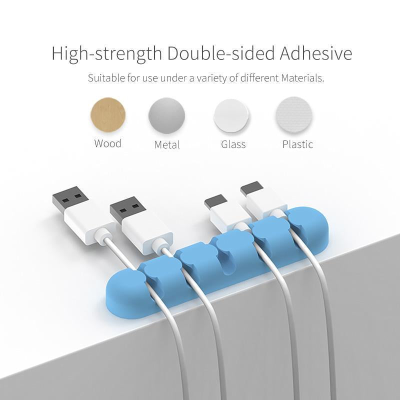 AIFFECT 3Pcs Silicone Cable Winder