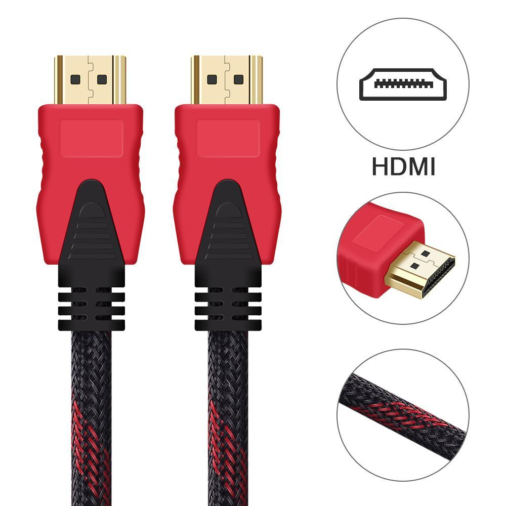 HDMI to HDMI Cable 4K 1080P