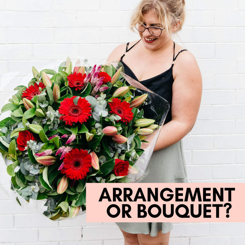Bouquet vs Arrangement: What is the difference?