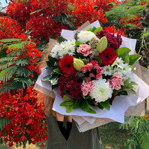 Christmas Style Bouquet Florist Choice