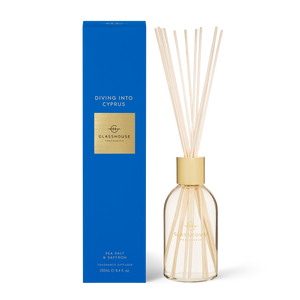 Diving Into Cyprus - Sea Salt & Saffron Diffuser