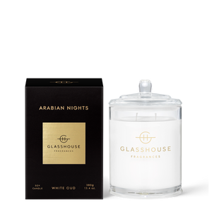 Arabian Nights - White Oud Candle
