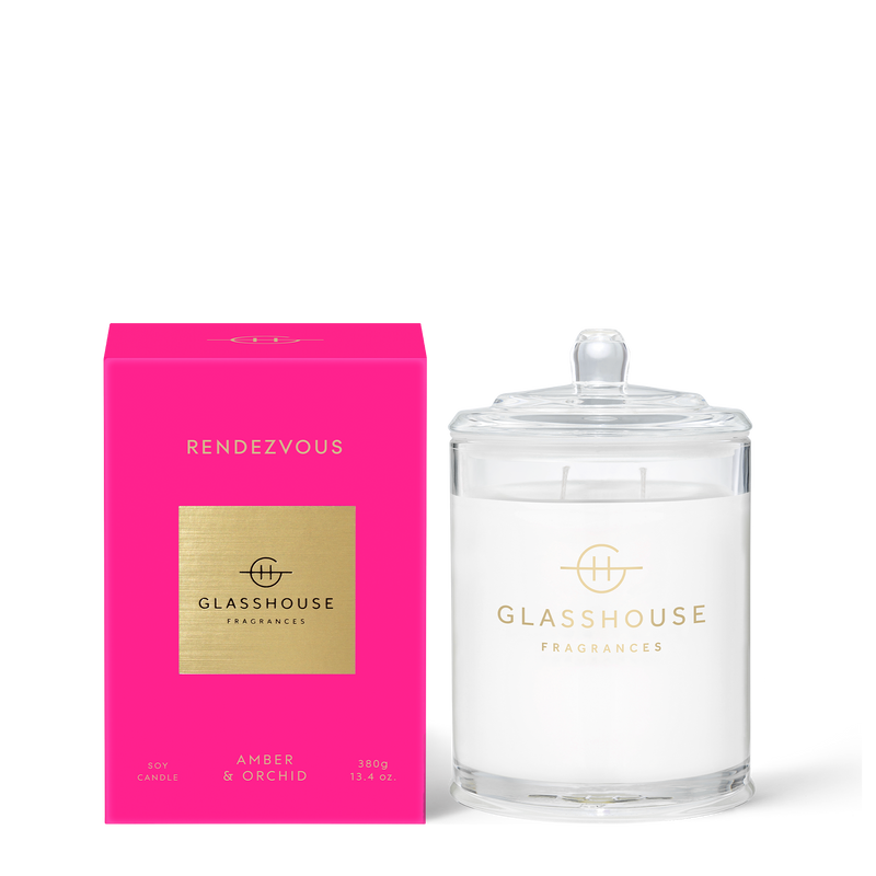 Rendezvous - Amber & Orchid Candle