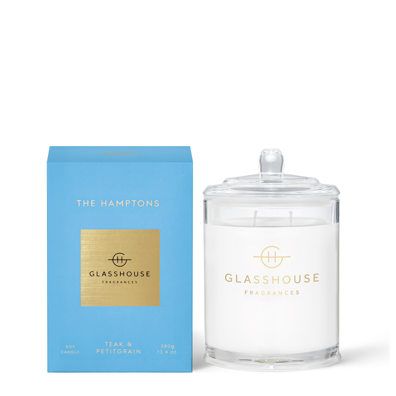 The Hamptons - Teak & Petitgrain Candle