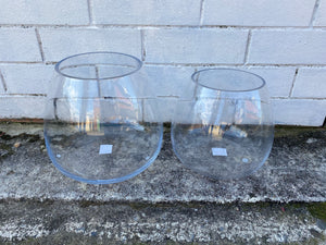 Glass Fishbowl Vases