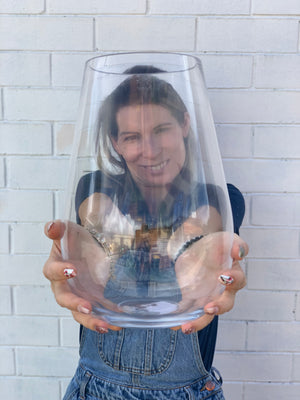 Same, Same But Different Glass Vase