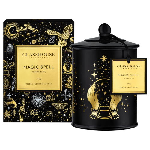 Limited Edition - Magic Spell Glasshouse Candle