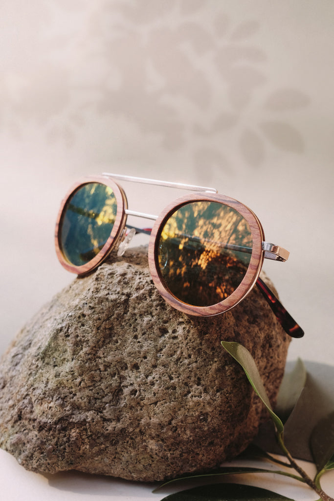bambies emilia handmade wooden sunglasses