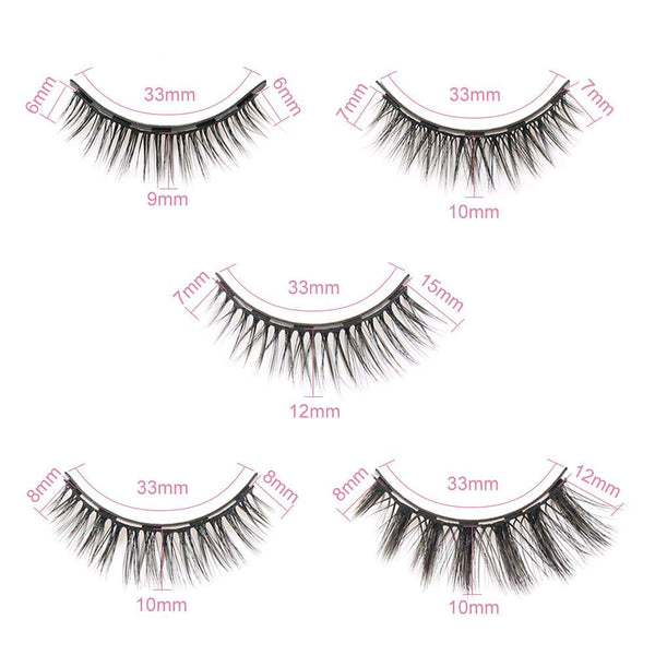 Luxisobeau false eyelashes