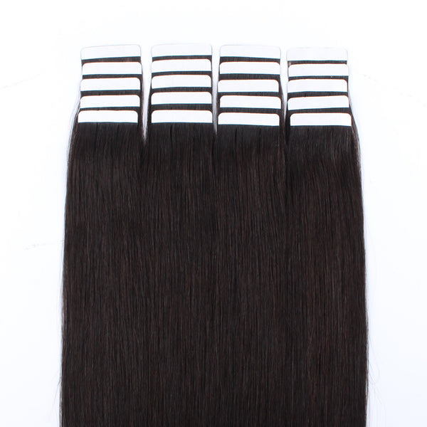 Tape in Hair Off Black Color 1B