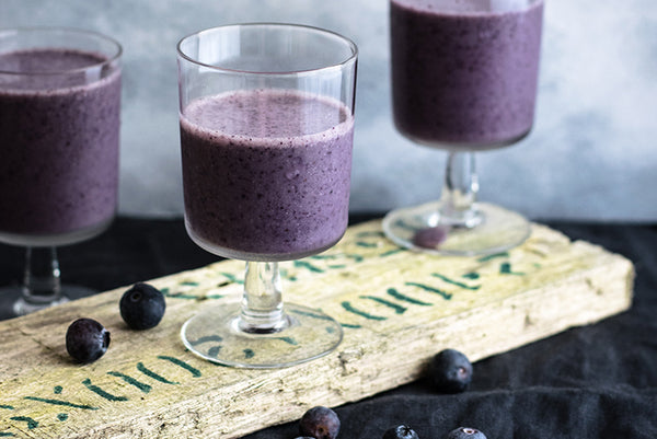 Baobab Blueberry Smoothie