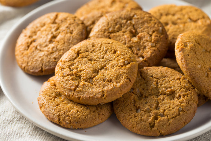 Ginger and Baobab Cookies