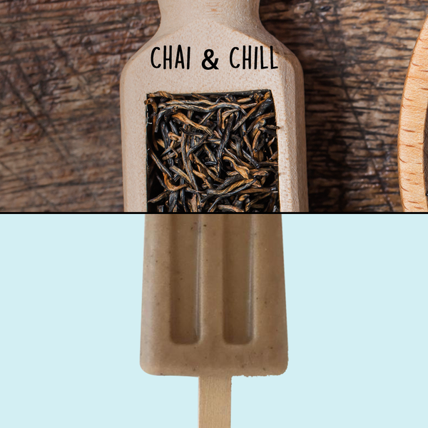 Vegan Chai Ice Cream Pop