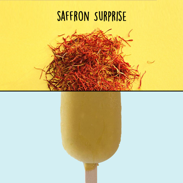 Saffron Vegan Ice Cream