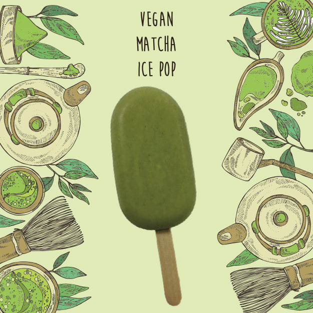 Vegan Matcha <br/> 1 Ice Pop