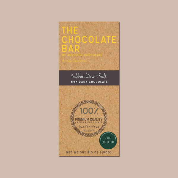 Vegan Chocolate - 54% Kalahari Dark Chocolate