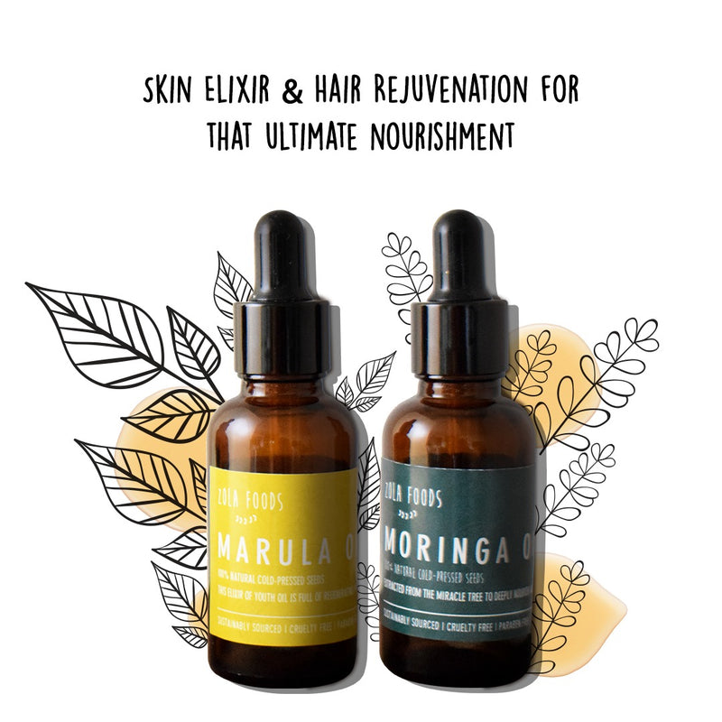Ultimate Nourishment Set | Skin Elixir & Hair Rejuvenation
