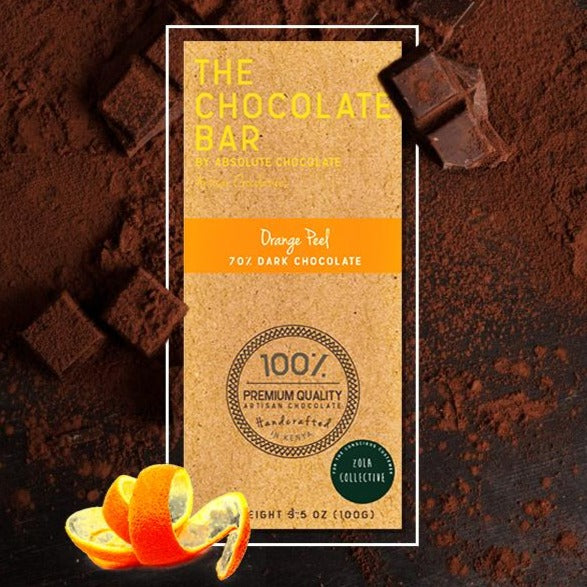 Vegan Orange Peel Chocolate