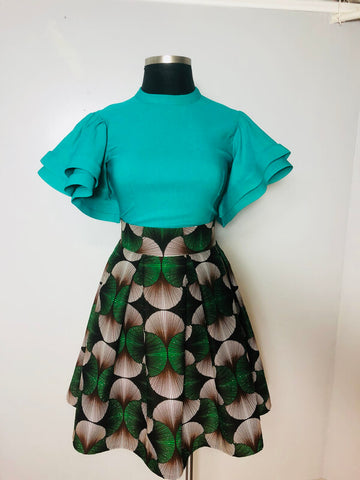 Green Leaf Skirt