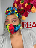 Graphic head wrap/mask