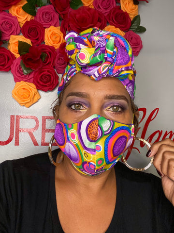 Circle Head wrap set