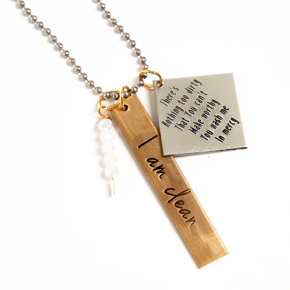 I Am Clean Necklace