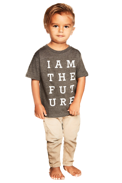 I Am The Future Grey Kids T-Shirt