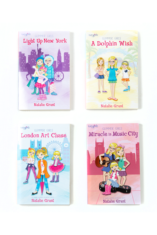 Glimmer Girls 4 Book Set