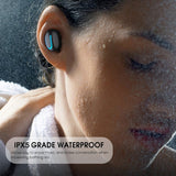 Waterproof Bluetooth Headphones - GoPositivo