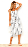 Women's Bohemian Vintage Sundress 2019 Limited Edition Vanilla White - GoPositivo