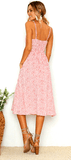 Women's Bohemian Vintage Sundress 2019 Limited Edition Cherry Blush - GoPositivo
