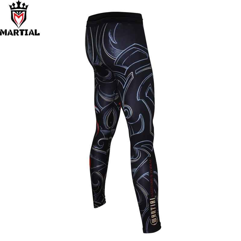 Fitness Printed Leggings - GoPositivo