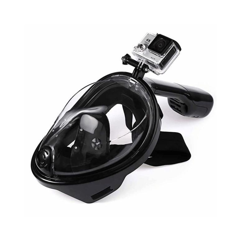 Seapan® - Full Face 180°  View  Anti-fog Snorkeling Mask - GoPositivo