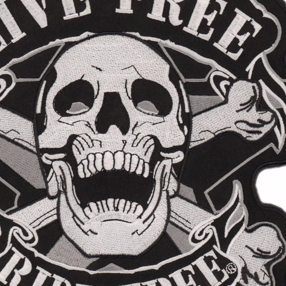 Ride Free® Biker Patch - GoPositivo