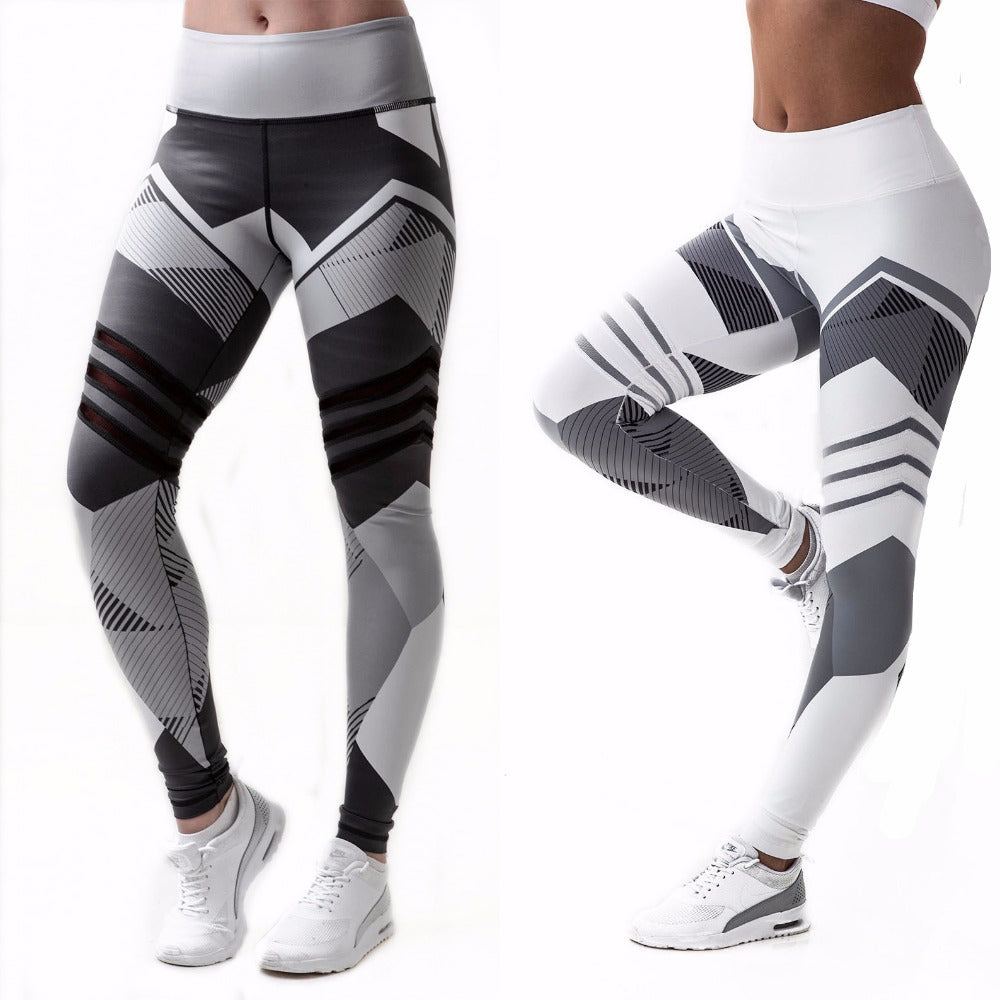 Ropa Deportiva Mujer Stretch Running Jogging Tights Leggins for Ladies - GoPositivo