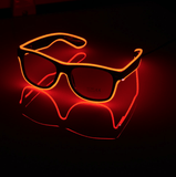Rechargeable LED sunglasses - GoPositivo