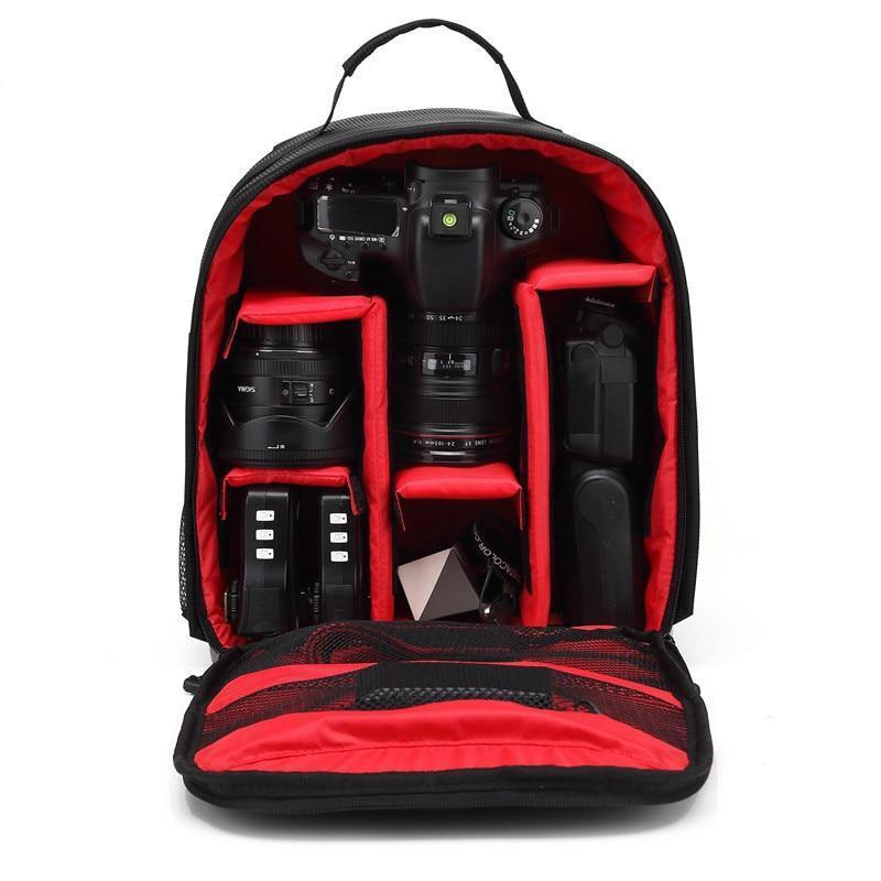 Cameo® - World's First Fully Customizable Waterproof Camera Backpack US2 - GoPositivo
