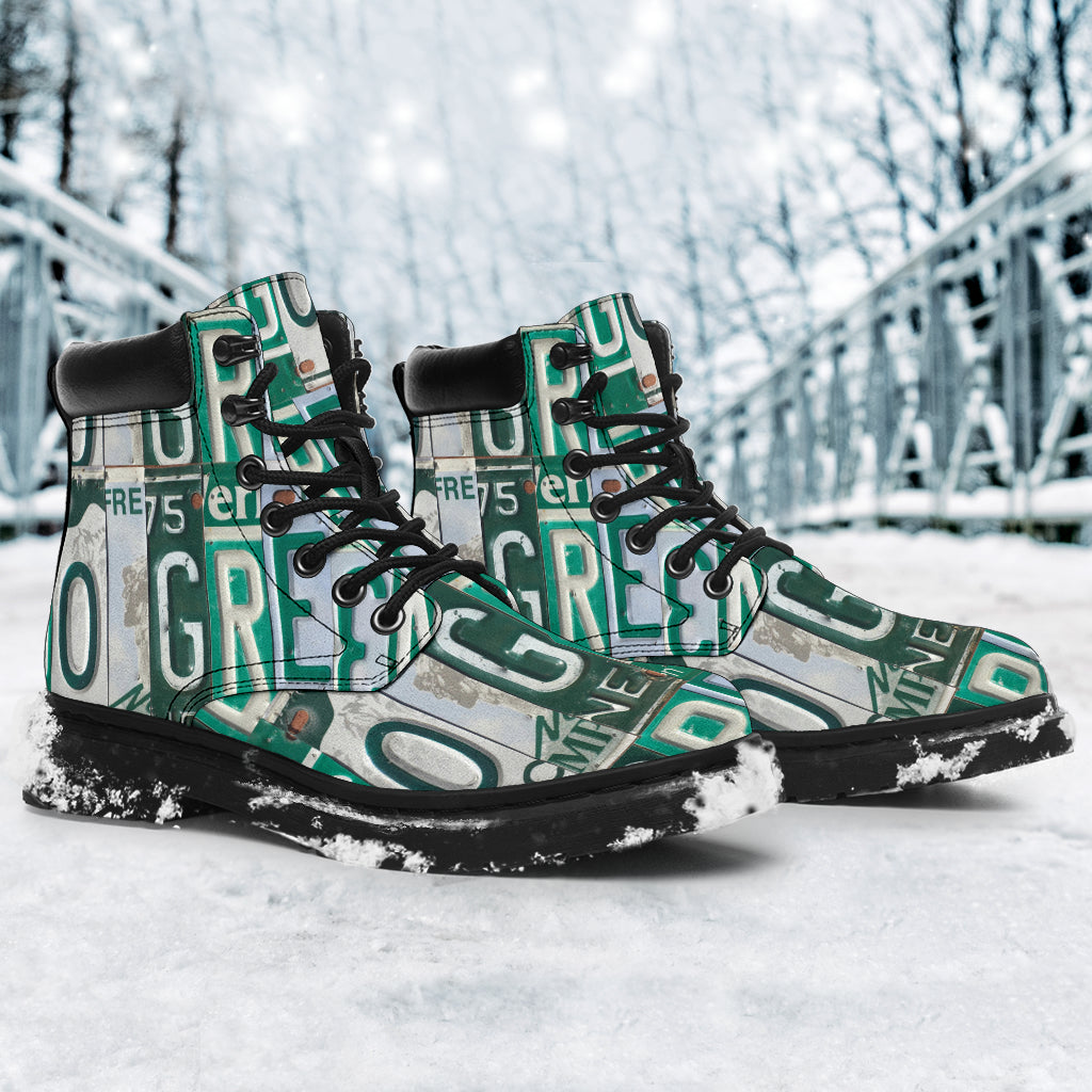 HandCrafted Go Green Performance Boots - GoPositivo