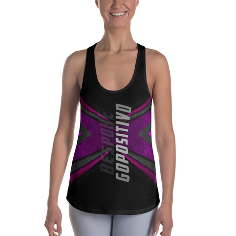 GP Bespoke Abstract Women's Racerback Tank - GoPositivo