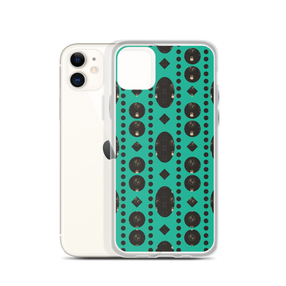 GP Bespoke Green Envy iPhone Case - GoPositivo