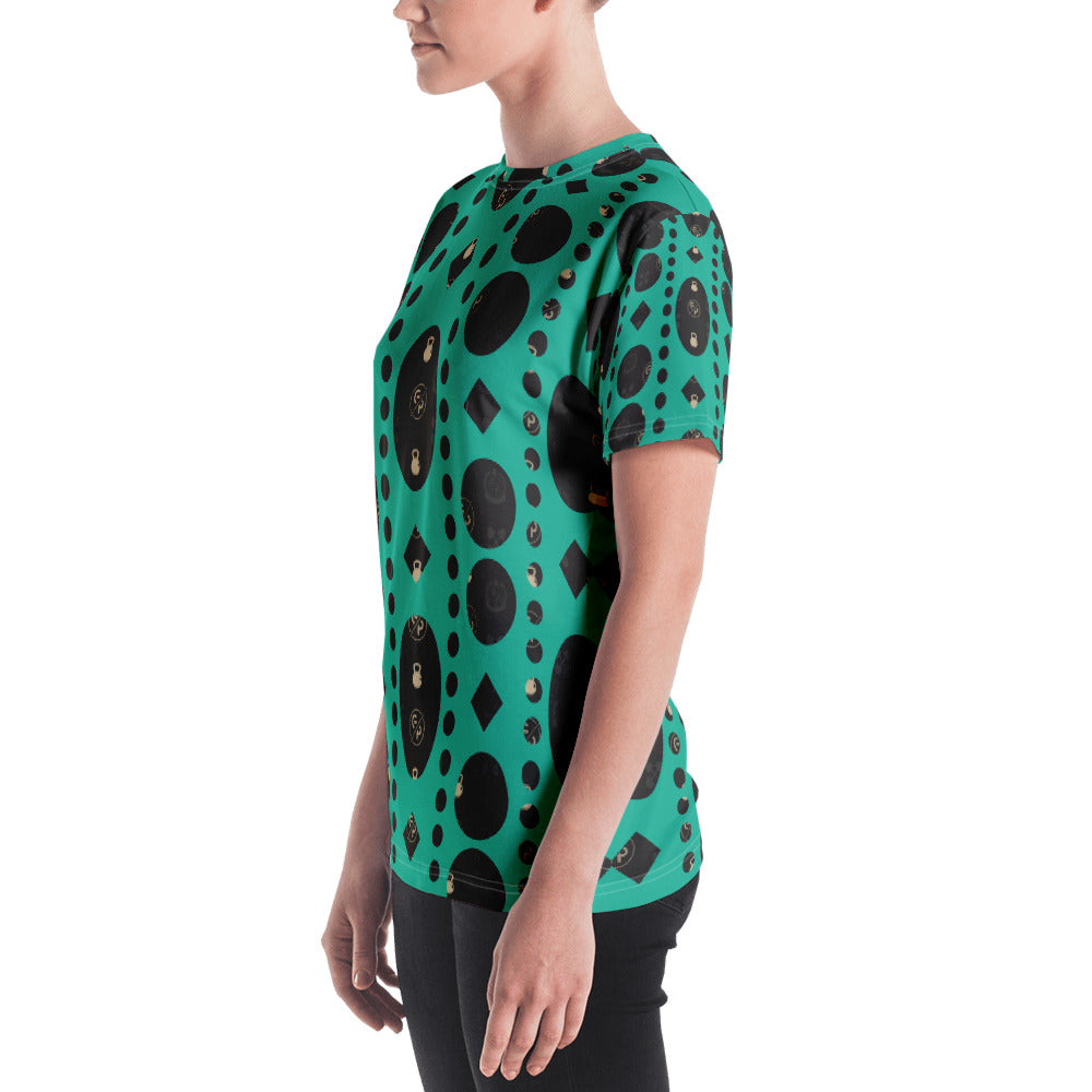 GP Bespoke Green Envy Women's T-shirt - GoPositivo